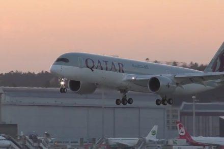 Qatar avião