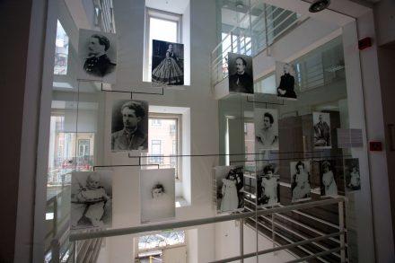 Área expositiva da Casa Museu Fernando Pessoa em Lisboa