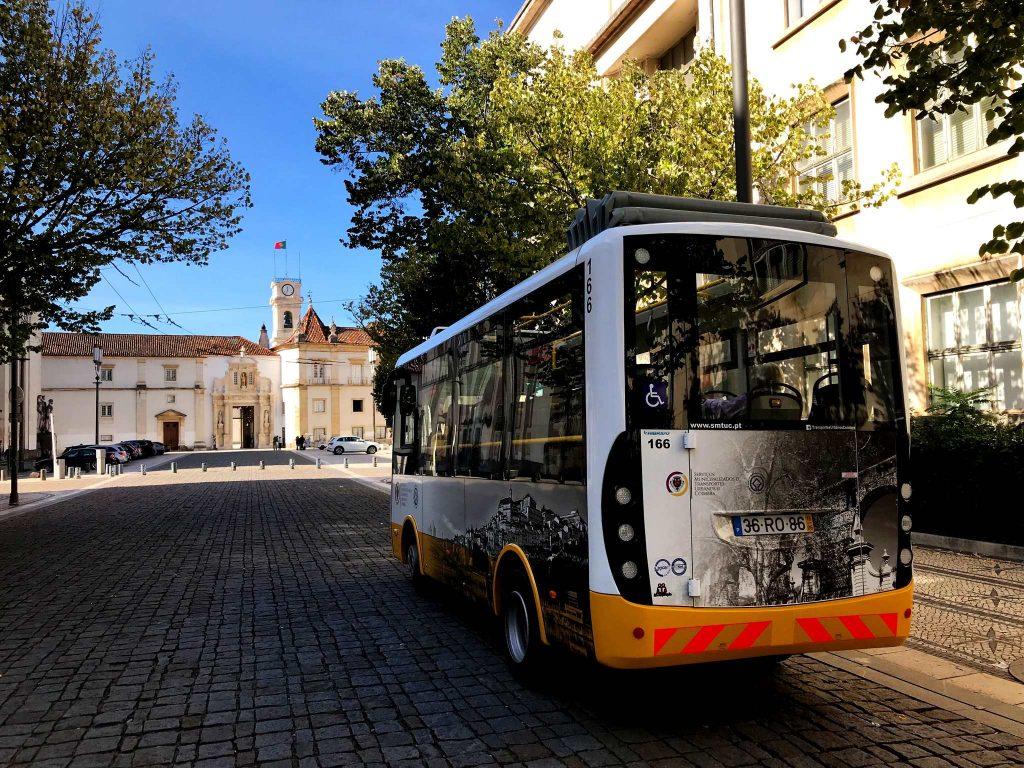 autocarro do botanico coimbra - diogo pereira