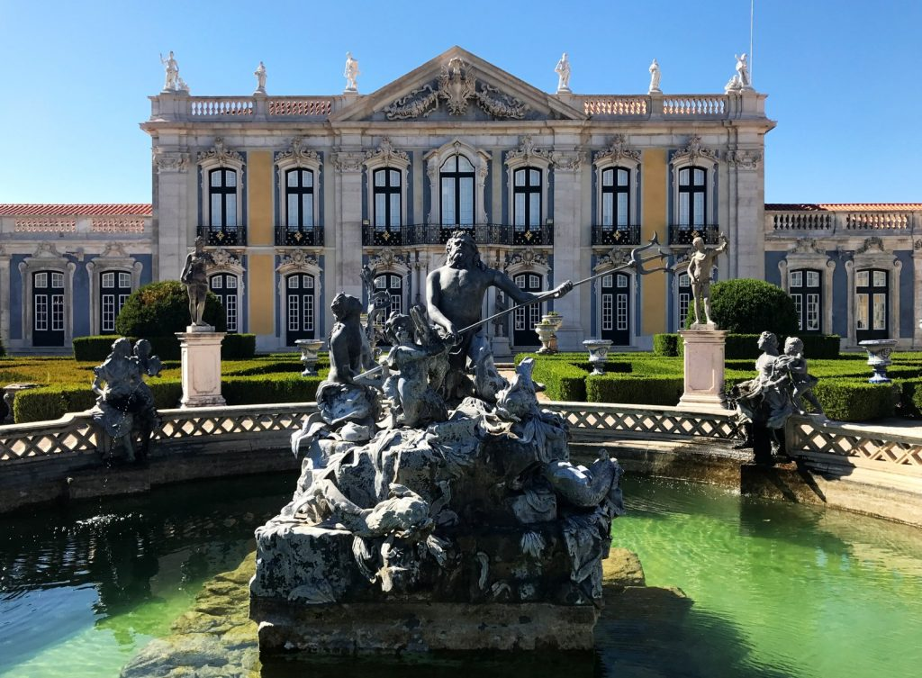 palácio nacional de queluz lago do neptuno - diogo pereira
