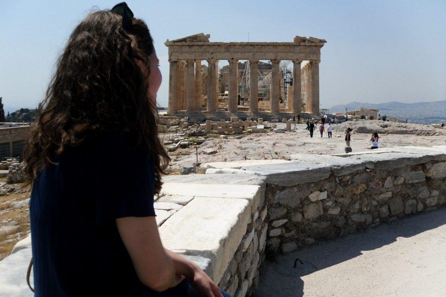 Acrópole Partenon Atenas Grécia 2 - Cláudia Paiva