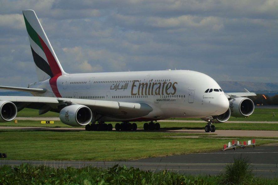 avião a380 emirates - pixabay