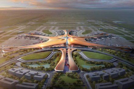 novo aeroporto de Pequim Zaha Hadid Architects, Methanoia