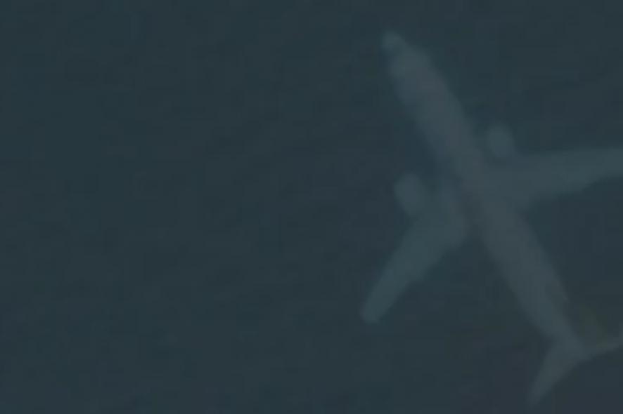 google maps avião submerso - google maps