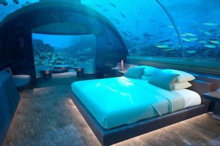 hotel subaquático maldivas conrad