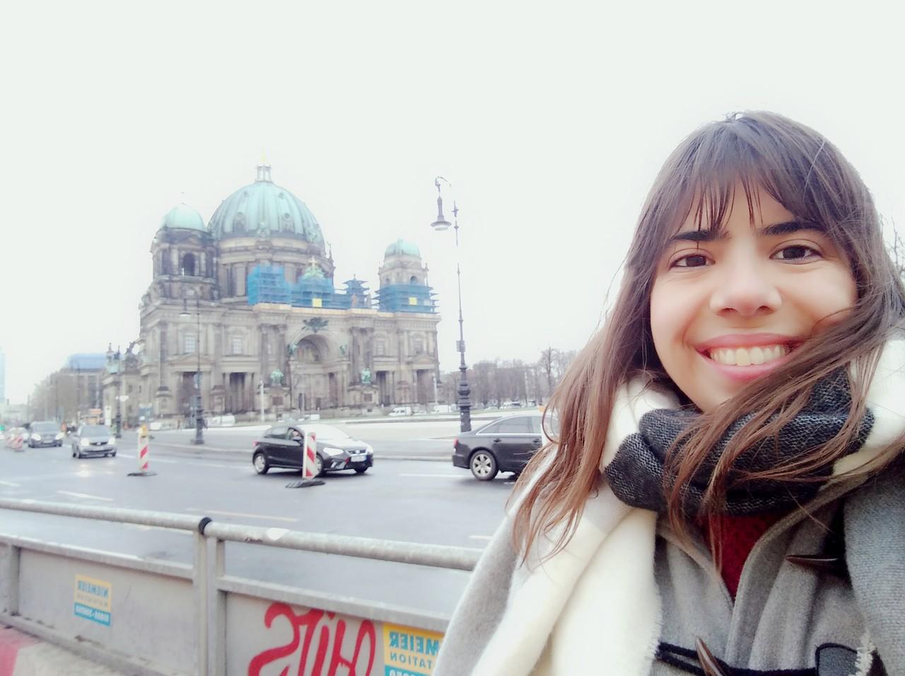 Sara Reis fotografada em Berlim. Foto de Sara Reis