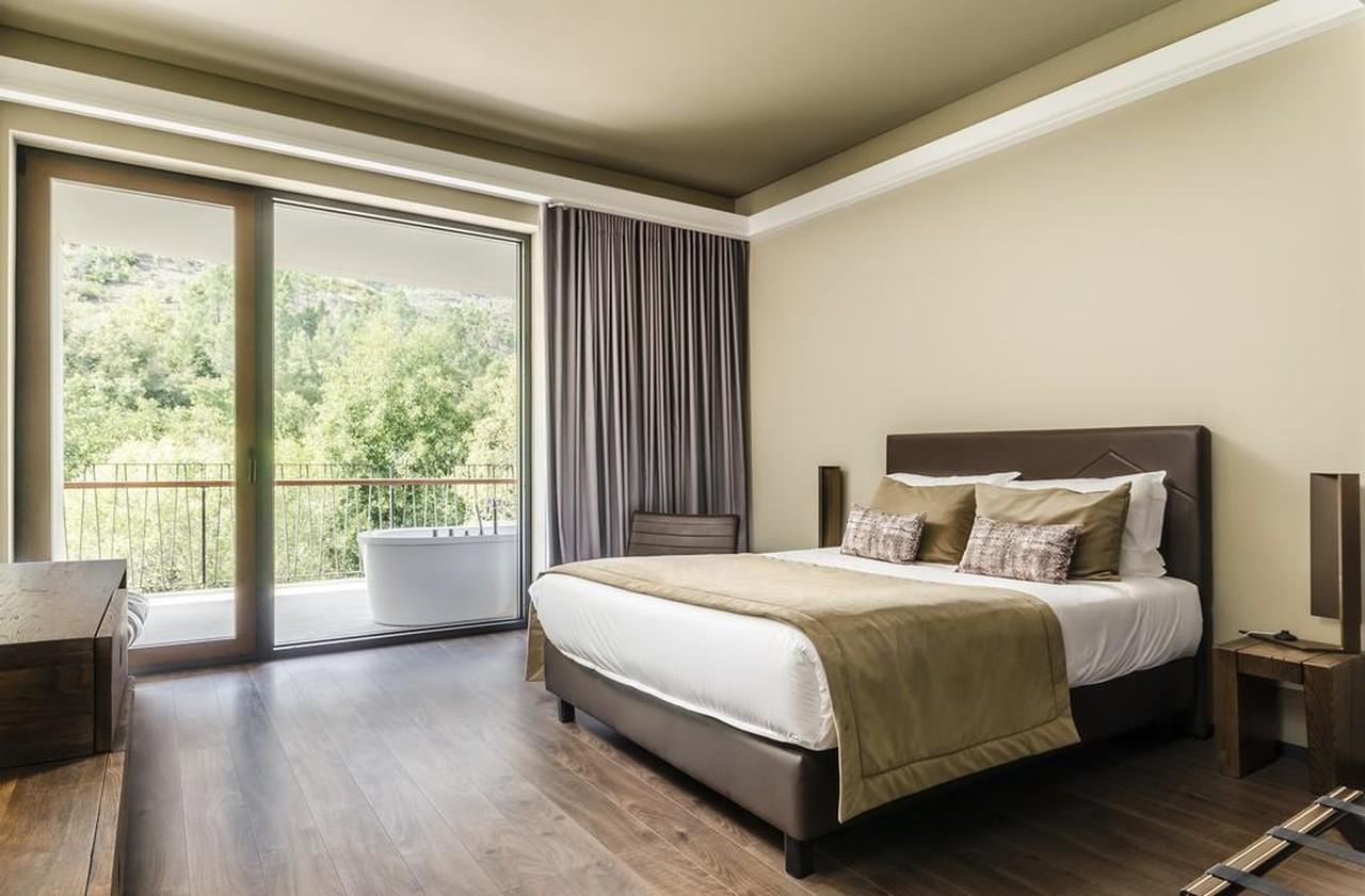 Quarto de hotel no Aqua Village Health Resort