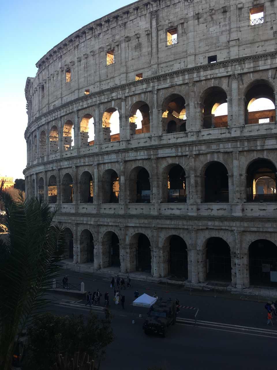 Coliseu de Roma. Foto de Inês Marques