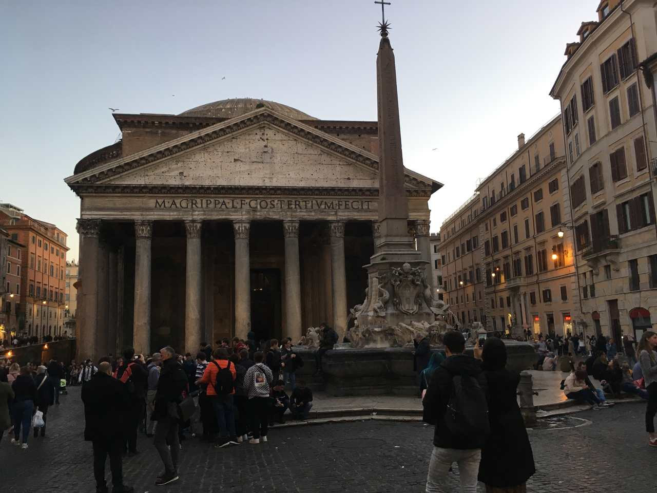 Panteão em Roma. Foto de Inês Marques