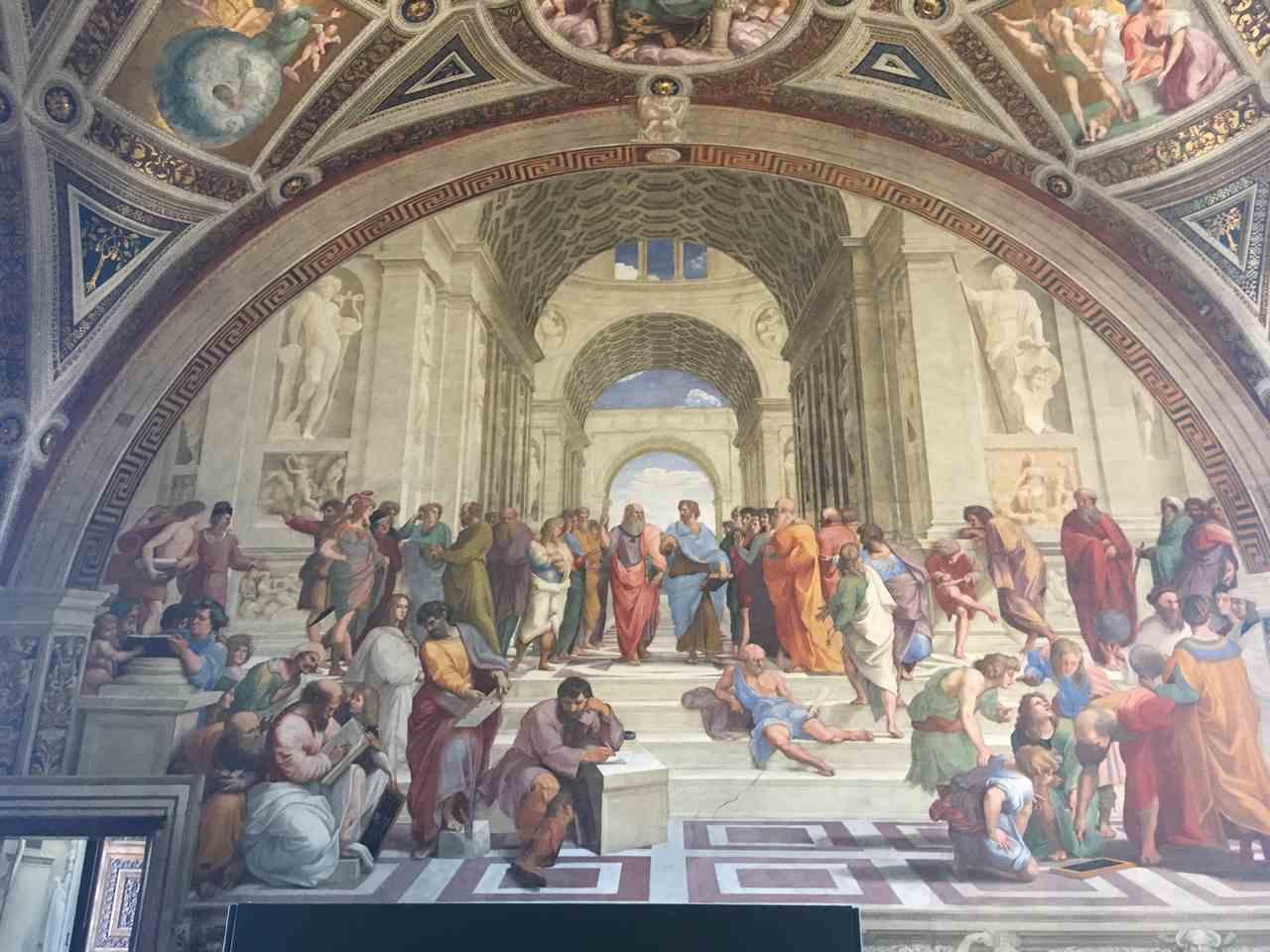 Frescos do Vaticano em Roma. Foto de Inês Marquês