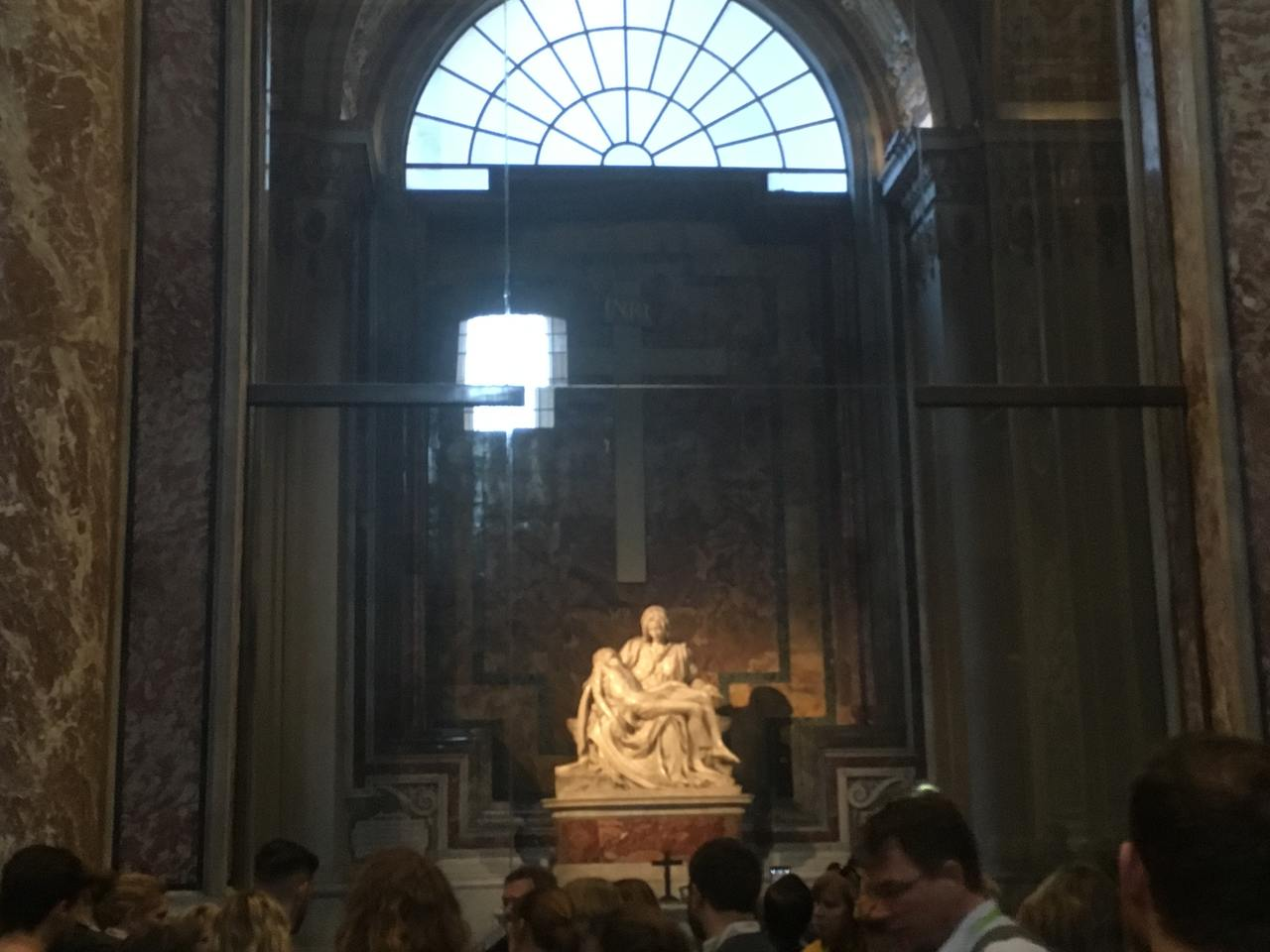 Estátua de Pieta em Roma. Foto de Inês Marques