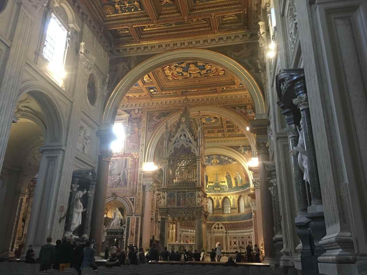 Igreja San Giovanni em Roma. Foto de Inês Marques