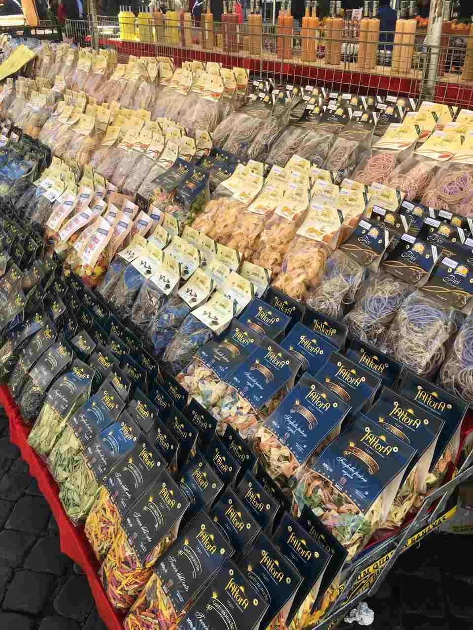 Mercado campo de Fiori. foto de Inês Marques