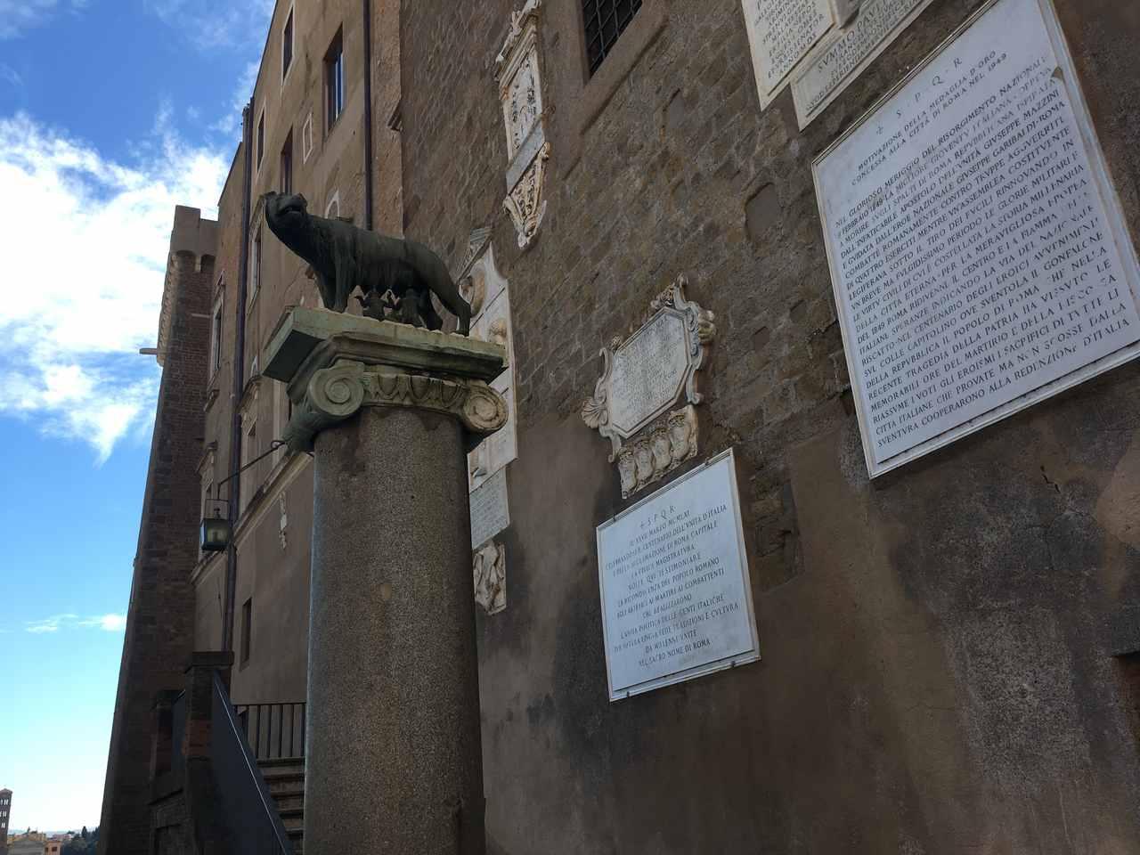 Estátua da Loba em Roma. Foto de Inês Marques