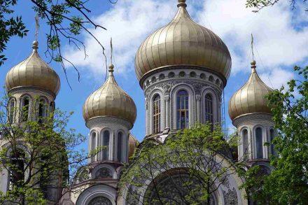 Catedral de vilnius, na Lituânia. Foto de Pixabay