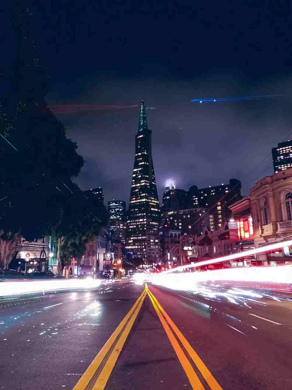 Exemplo de foto de longa exposição tirada com a aplicação Specter. Foto de Divulgação