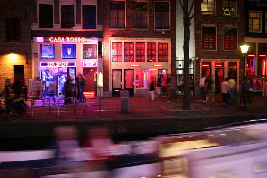 Red Light District de Amesterdão. Foto de Cédric, Flickr
