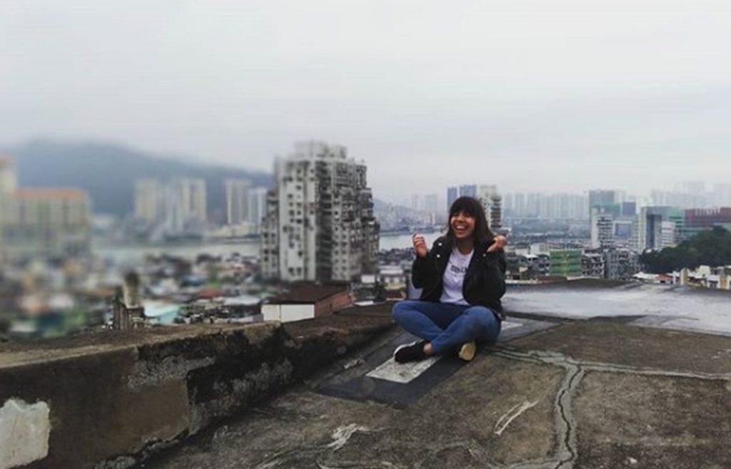 Sara Reis em Hong Kong. Foto de Sara Reis