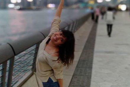 Sara Reis em Hong Kong . Foto de Sara Reis