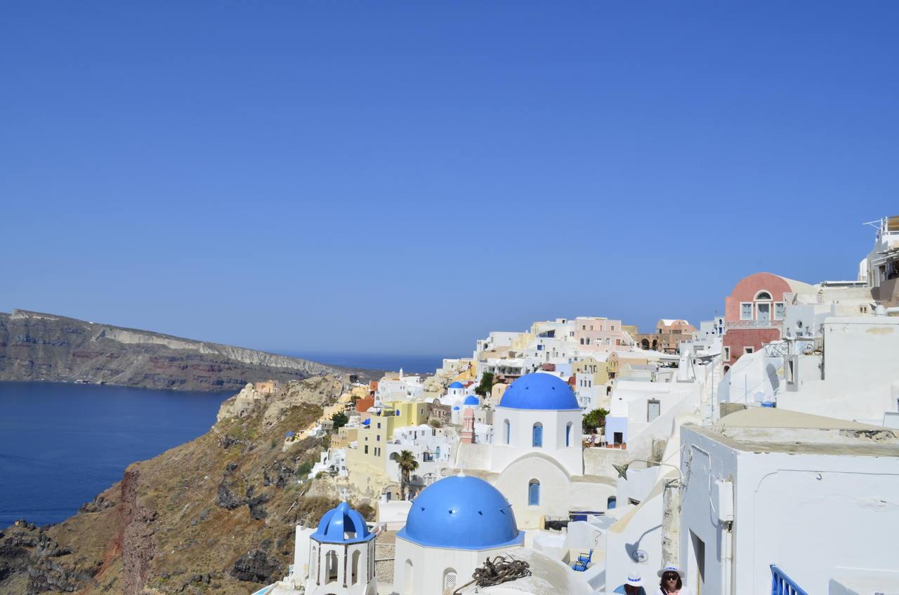Ilha grega de Santorini. Foto de Cláudia Paiva