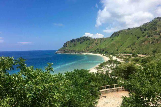 Praia Timor Leste. Foto de Mariana Torres