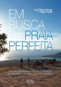 Capa do livro Em Busca da Praia Perfeita de Luís Pedro Nunes e Tiago Futre