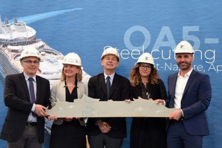 Royal Caribbean apresenta o novo maior navio de cruzeiros do mundo