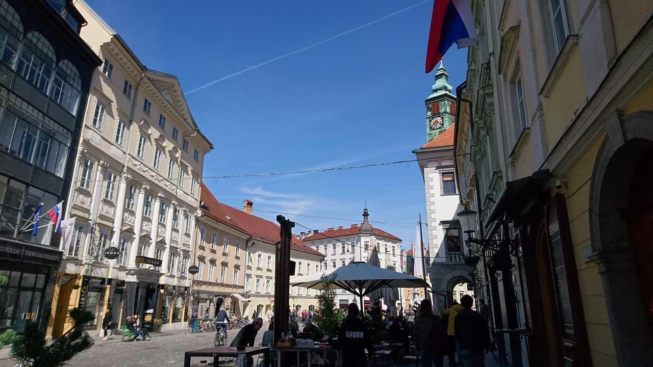 Stari trg em Ljubjana. Foto de Marta Costa