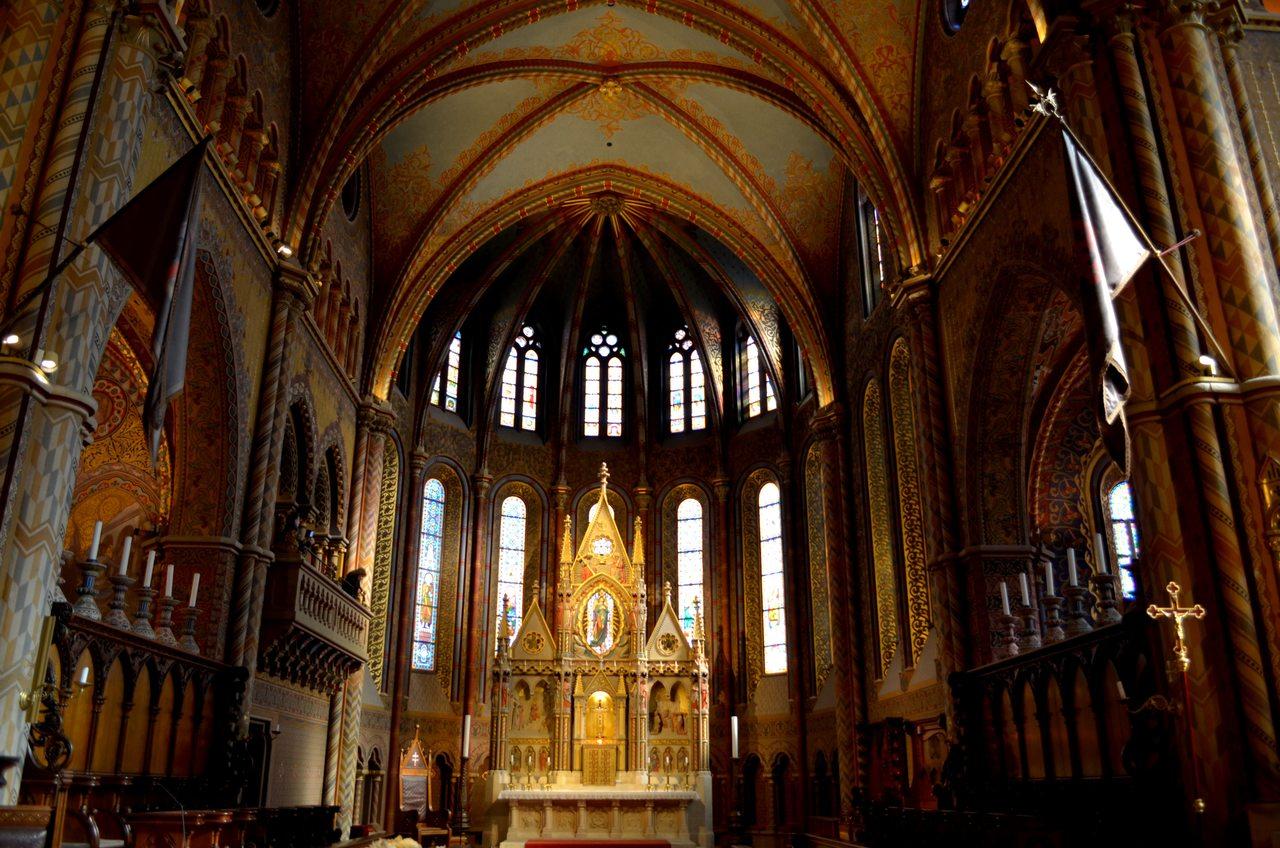Altar da Igreja de Santo Estevão em Budapeste