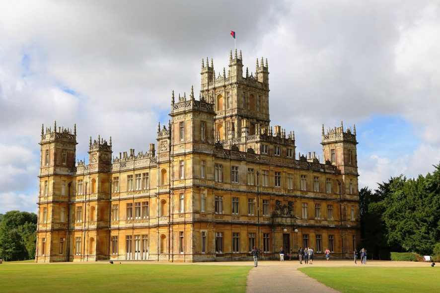 Castelo de highclere Downtown Abbey. Foto de Pixabay