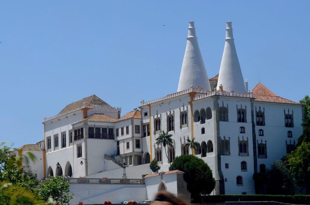 Teto da Sala dos Brasões no Palácio Nacional de Sintra