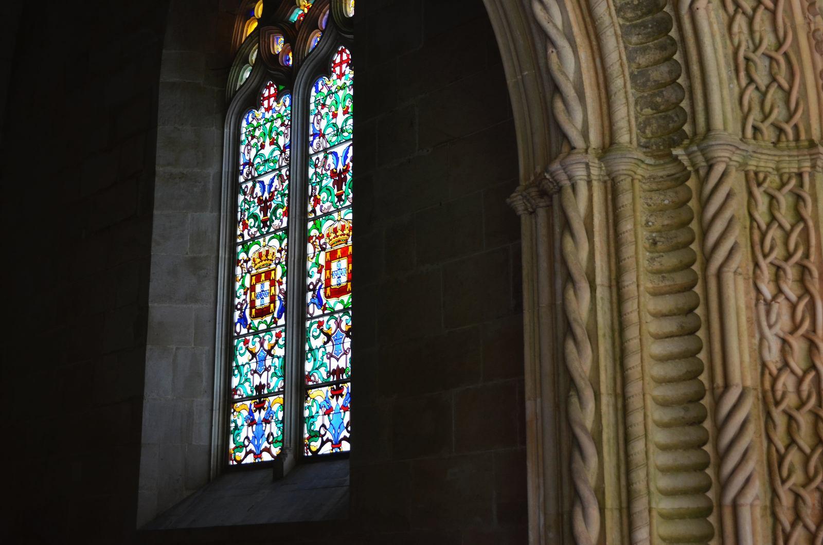 Vitrais no Mosteiro da Batalha