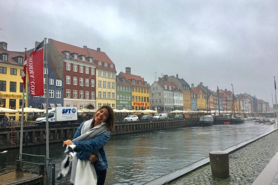 Sara Reis em Copenhaga