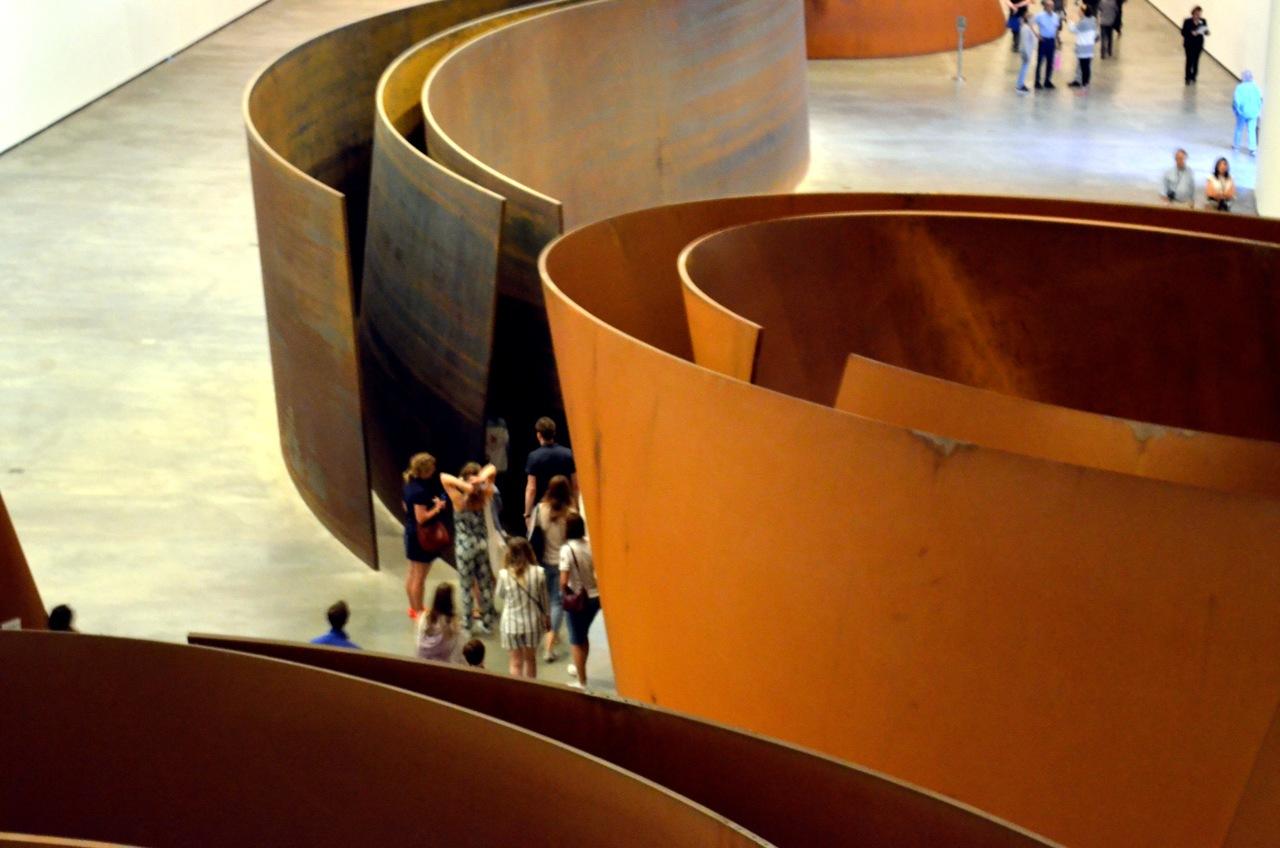 Exposição A Matéria do Tempo de Richard Serra no Museu Guggenheim de Bilbau