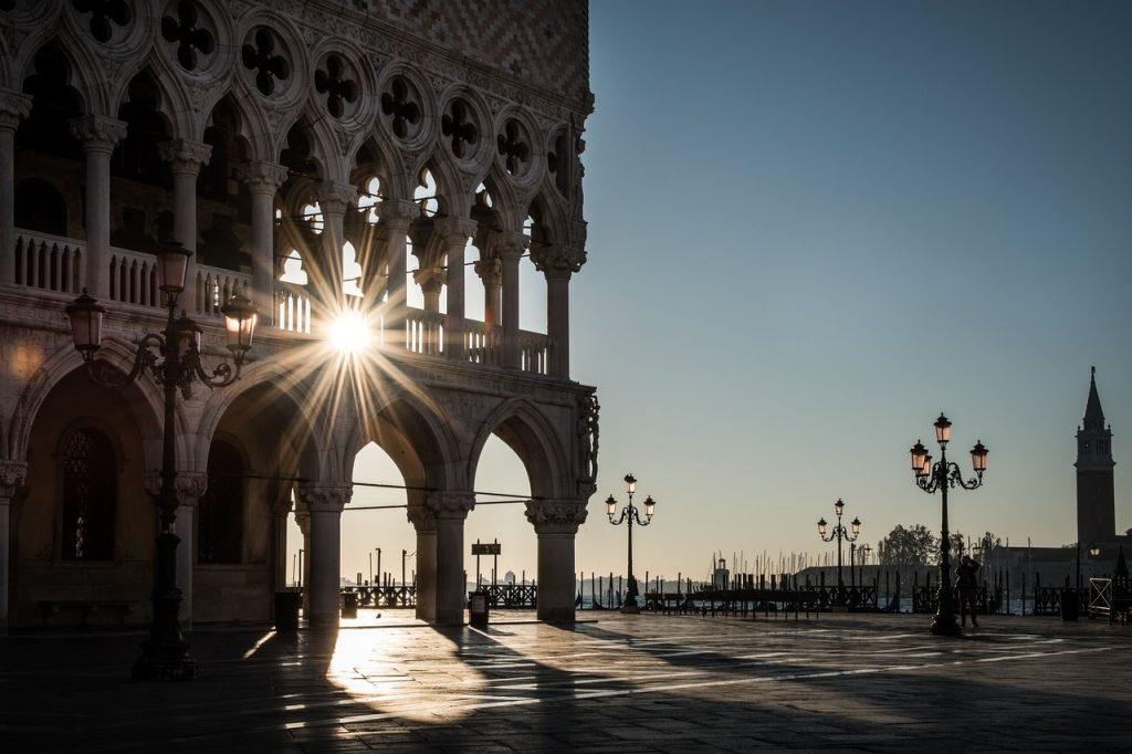 Palácio Ducal de Veneza. Foto de Pixabay
