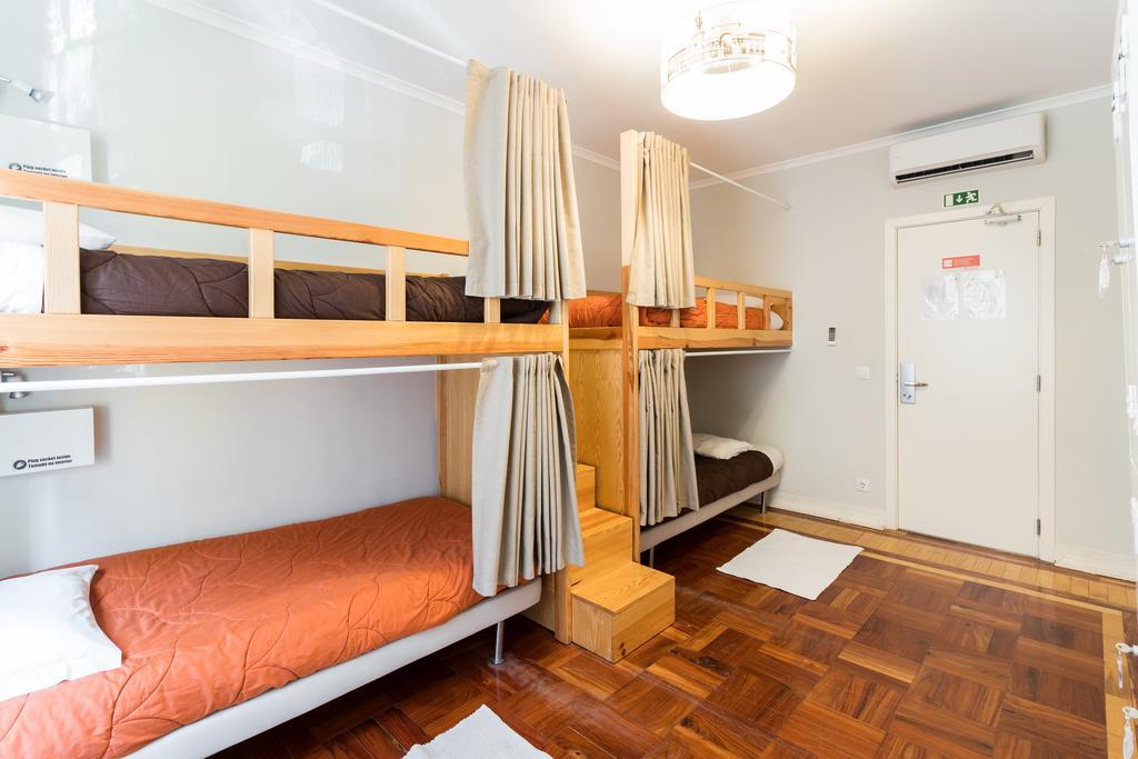 Quarto no Lisboa Central Hostel