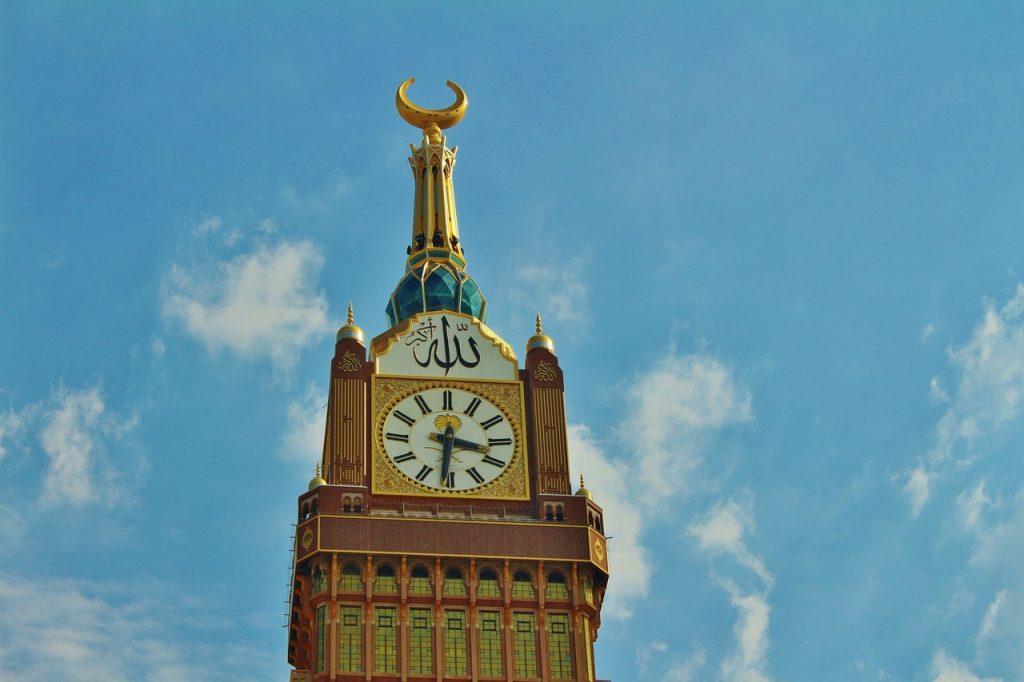 Torre de Meca na Arábia Saudita - Foto de Pixabay