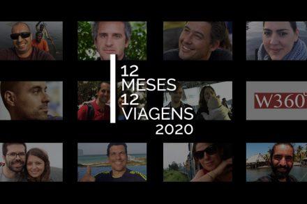 viajantes 12 meses 12 viagens 2020