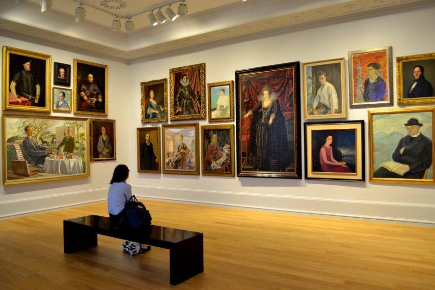 Exposição no Museu de Belas Artes de Bilbau, em Espanha
