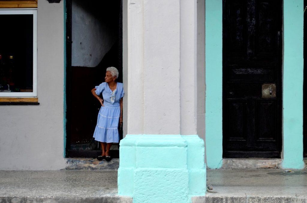 Habana Vieja em Cuba. Foto de Cláudia Paiva