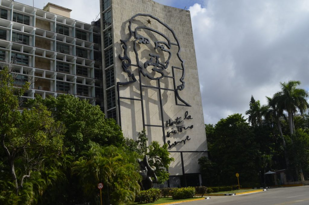 Praça da Revolução em Havana, Cuba