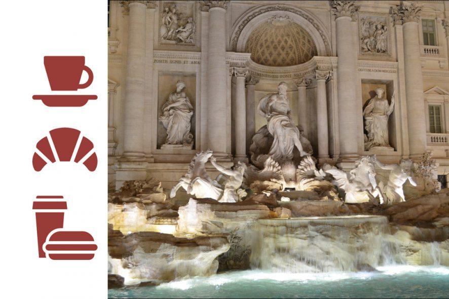 still quanto custam as coisas em Itália Fontana di Trevi
