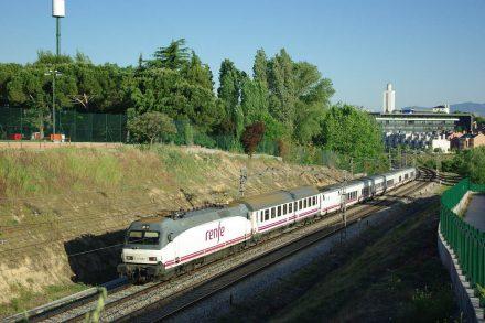 Comboio Lusitânia. Foto de André Marques