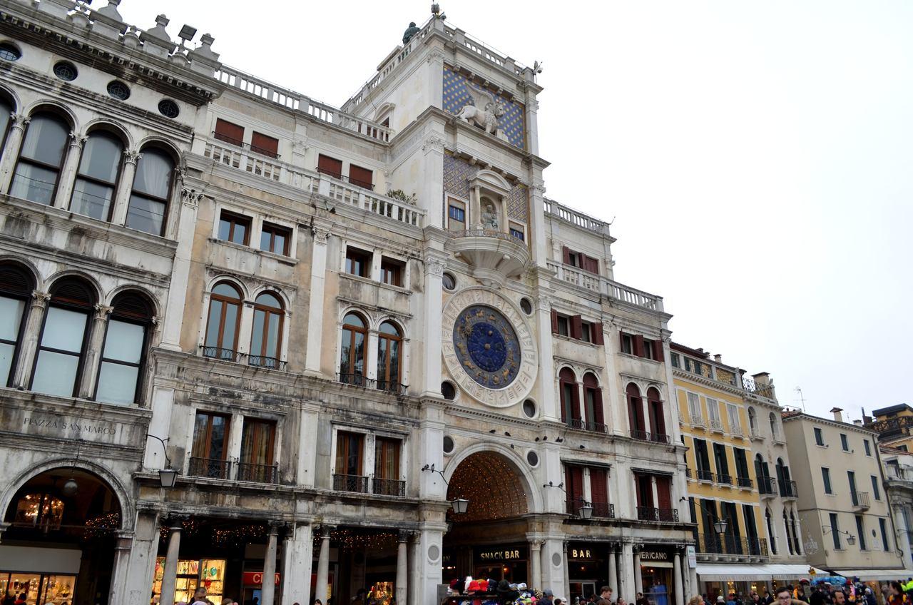Torre do Relógio de San Marco em Veneza