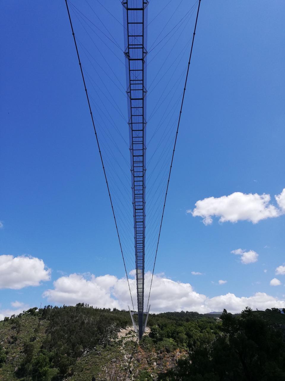 Maior Ponte Pedonal Suspensa do Mundo em Arouca, junto aos passadiços do paiva. Foto de Catherine Carvalho