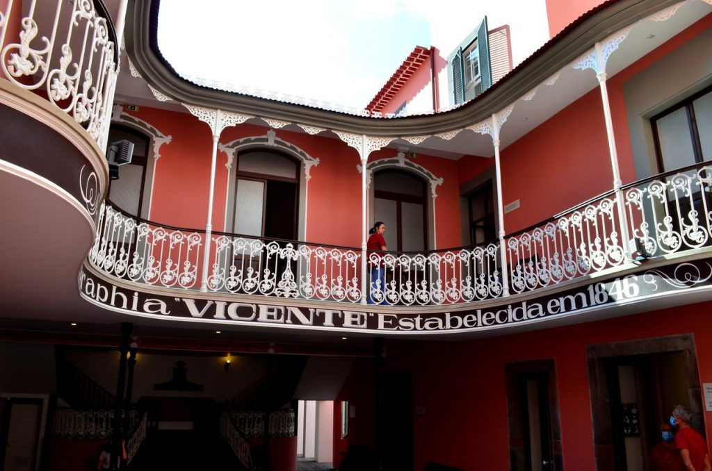 Fachada do Museu de Fotografia da Madeira no Funchal