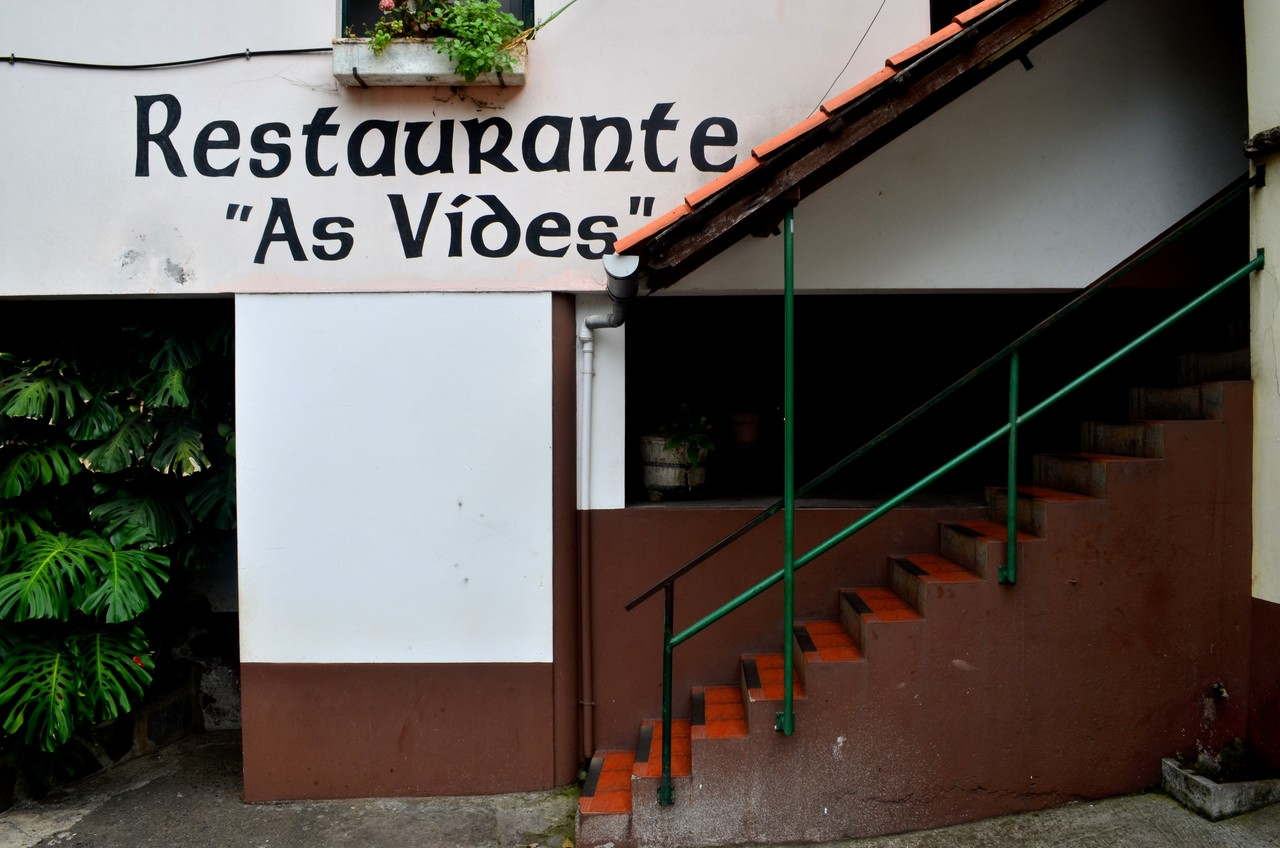 Restaurante As Vides na Madeira