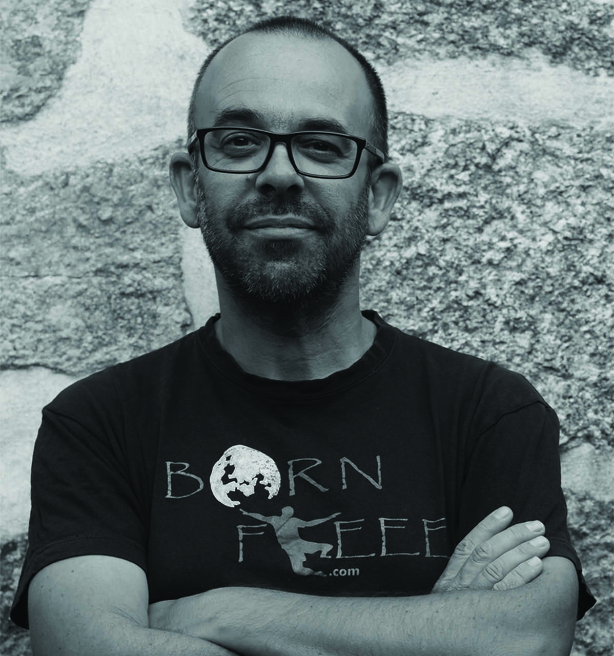 Rui Barbosa Batista, autor do livro BORN FREEE – O mundo é uma aventura