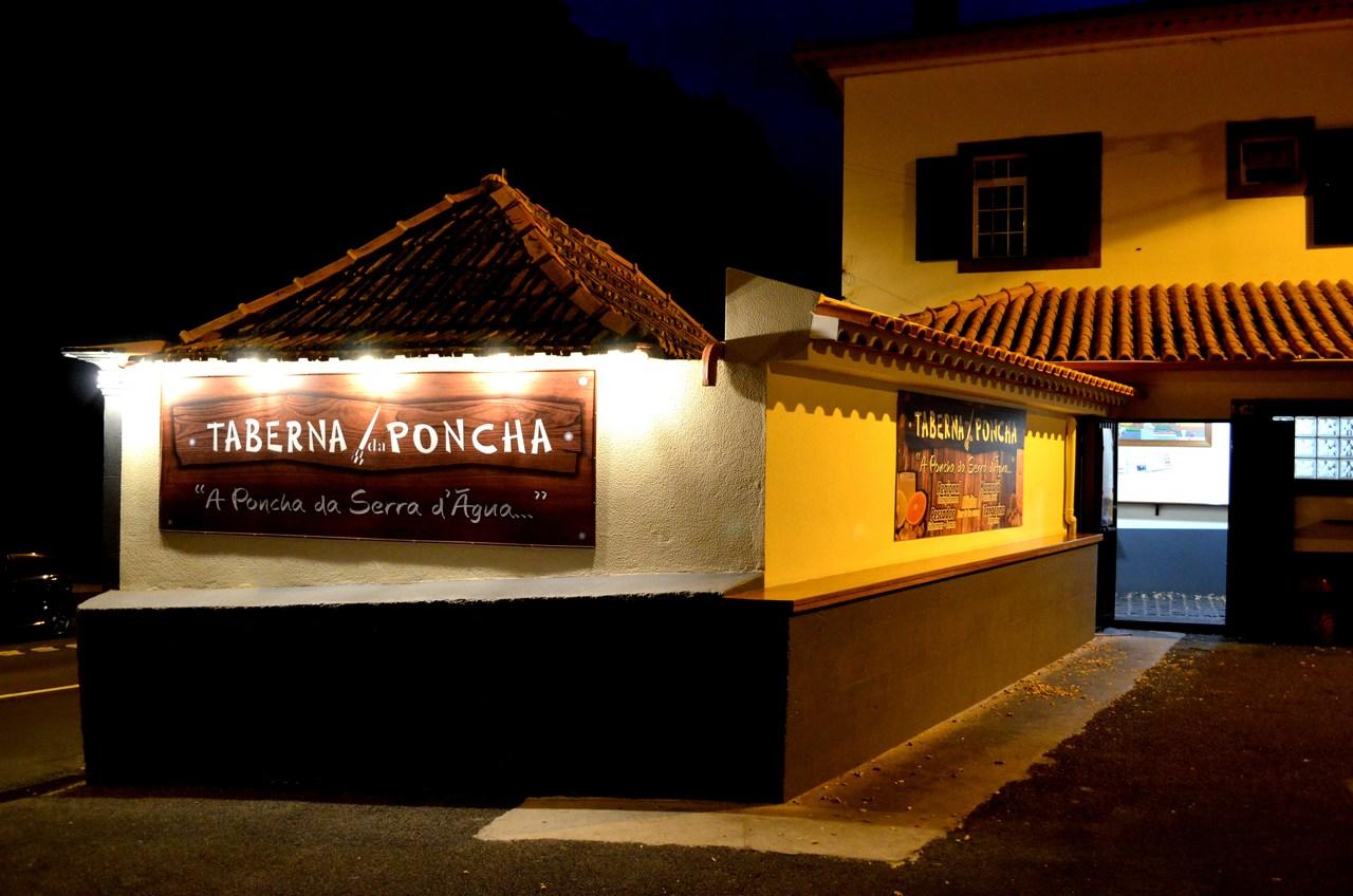 Taberna da poncha da Serra d'Agua na Madeira
