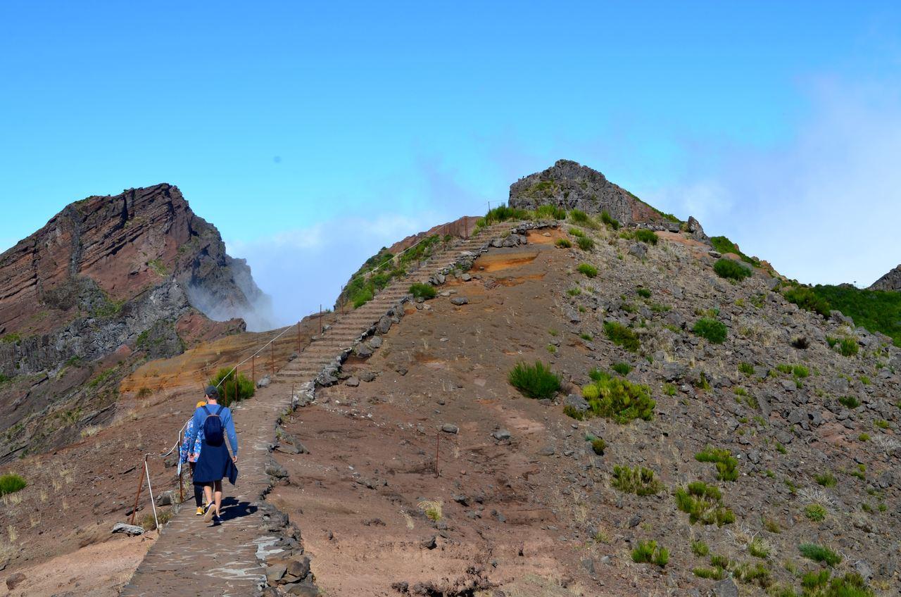 Vereda do Pico do Areeiro na Madeira 1